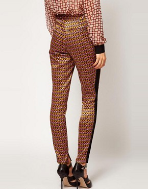 Image 2 ofASOS Geo Print Trousers