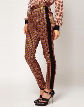 Image 4 ofASOS Geo Print Trousers