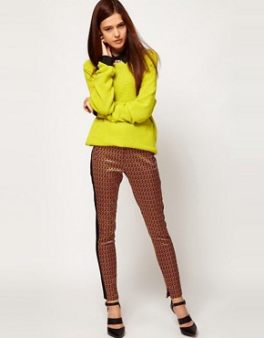 Image 1 ofASOS Geo Print Trousers