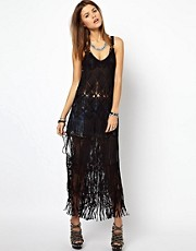Diesel Macrame Maxi Dress