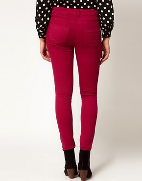 Image 2 ofASOS Maternity Exclusive Skinny Jean In Wine