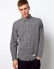 Vans Shirt Guilder Chambray Polka Dot Print