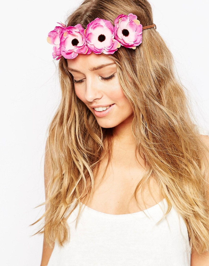 ASOS Festival Girl Headband - Purple