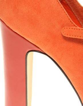 Image 2 ofASOS SUZIE Mary Jane Patent Heel Court Shoe