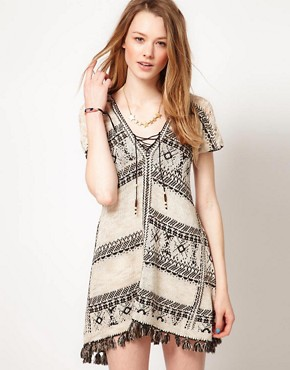 Image 1 ofFree People Blanket Festival Tunic