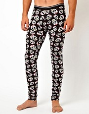 ASOS Megging With Skull Print