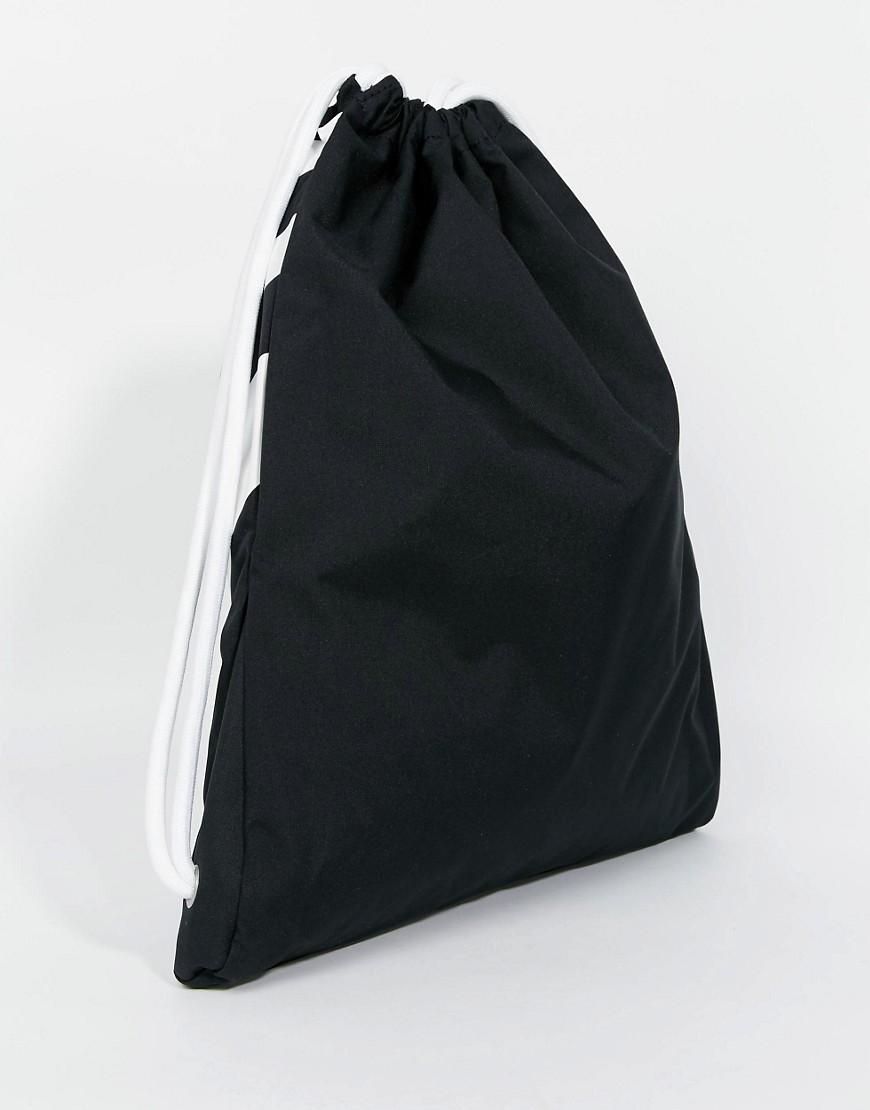 nike nike heritage drawstring backpack ba5128 011 at asos