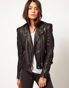 Image 1 ofWhistles Naomi Biker Jacket