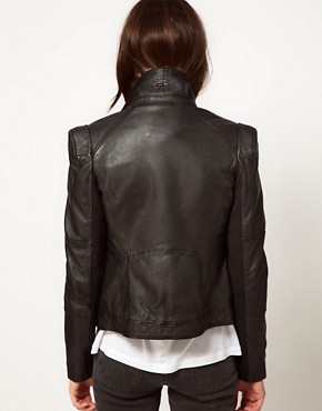 Image 2 ofWhistles Naomi Biker Jacket