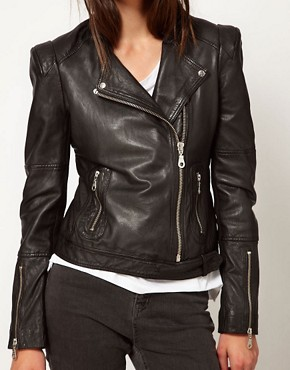 Image 3 ofWhistles Naomi Biker Jacket