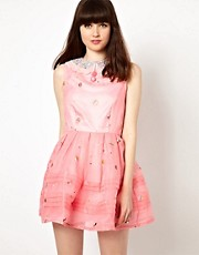 Nishe Prom Dress With Cupcake Lace Embroidery
