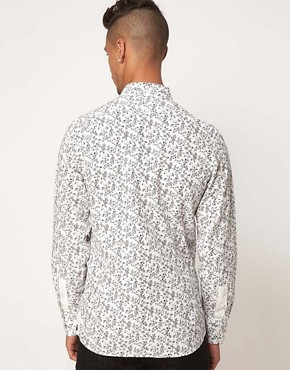 Image 2 ofLove Moschino Floral Shirt