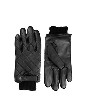 Image 1 ofBarbour Leather Gloves