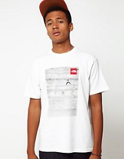 The North Face T-Shirt with Climber Photo Print