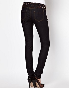 Image 2 ofASOS Super Sexy Skinny Jeans with Stud Detail