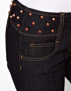 Image 3 ofASOS Super Sexy Skinny Jeans with Stud Detail