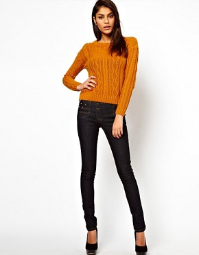 Image 4 ofASOS Super Sexy Skinny Jeans with Stud Detail