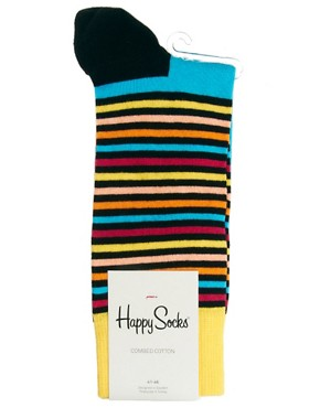Image 3 ofHappy Socks Stripe Socks