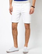 ASOS Denim Shorts In Skinny Fit