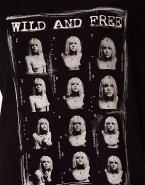 Image 3 ofSelected &#39;Wild And Free&#39; Country Love Tee