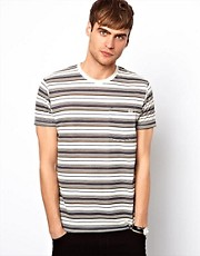 Jack &amp; Jones T-Shirt with Vintage Stripe