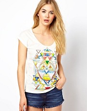 Pepe Jeans Geo Printed T-Shirt
