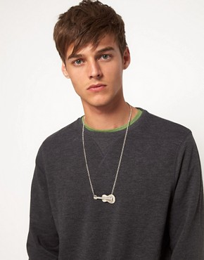 Image 3 of ASOS Guitar Necklace