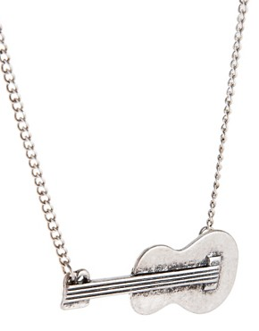 Image 4 of ASOS Guitar Necklace