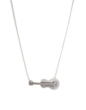 Image 1 of ASOS Guitar Necklace
