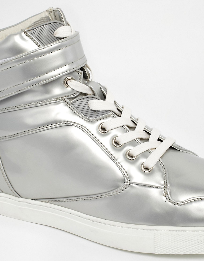 Image 2 of ASOS High Top Trainers