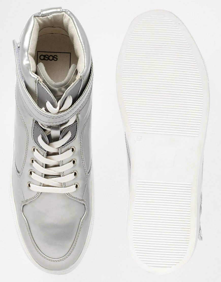 Image 3 of ASOS High Top Trainers