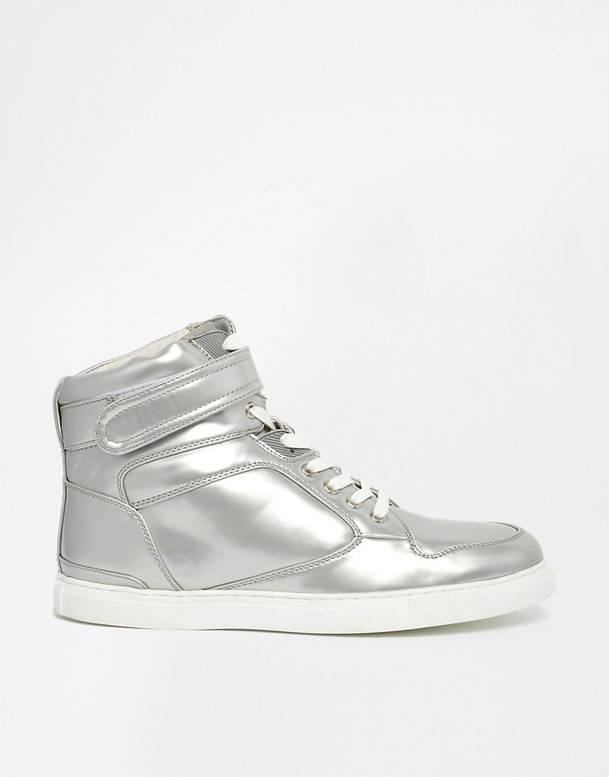 Image 4 of ASOS High Top Trainers