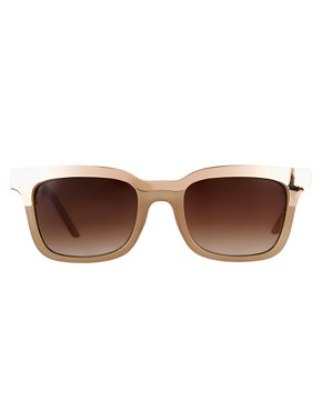 Image 2 of ASOS Retro Sunglasses With Metal Top