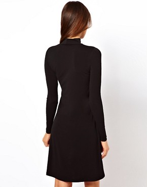 Image 2 ofASOS Shift Dress With High Low Hem