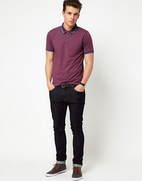 Image 4 ofASOS Polo With Paisley Print