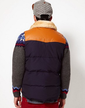 Image 2 ofPenfield Rockwool Down Fill Gilet