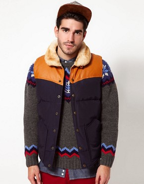 Image 1 ofPenfield Rockwool Down Fill Gilet