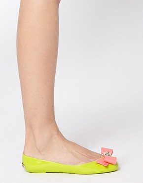 Image 3 ofTed Baker Joleey Green Ballet Flats