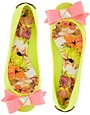 Image 4 ofTed Baker Joleey Green Ballet Flats