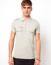 Diesel Polo T-Rea 2 Pocket Jersey