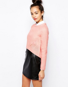 New Look New Boxy Crop Jumper
