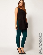 ASOS CURVE Exclusive Leggings In Teal
