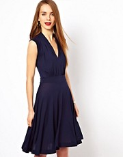 French Connection Jersey Skater Dress