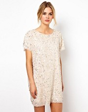 Tempest Lucy Oversize Dress in Sequin