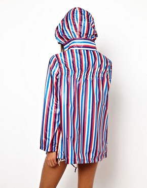 Image 2 ofASOS Stripe Pac A Parka