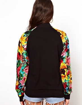 Image 2 of Joyrich Floral Varisty Jacket