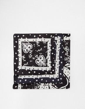 ASOS Bandana with Skull Print
