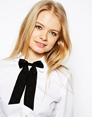 ASOS Chiffon Bow Neck Tie