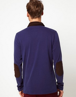Image 2 ofSelected Long Sleeve Polo Shirt