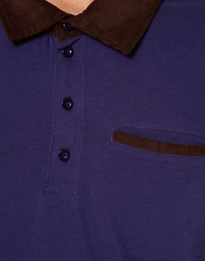 Image 3 ofSelected Long Sleeve Polo Shirt